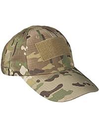 Tactical Baseball Cap Peaked Hat- Olive Green, Coyote, Multitarn, Mil-Tacs FG Camo