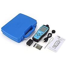 guoxuEE Monitor de Calidad del Aire Medidor O2 Temperatura de oxígeno Analizador del Detector de Gas