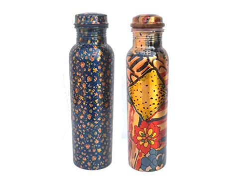 State Pride T Copper Joint free and Leak Proof Water Bottle  1000 ml   Pack of 2
