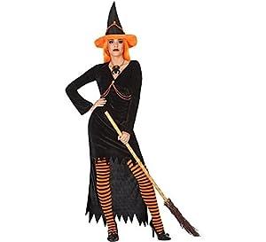 Atosa-54258 Atosa-54258-Disfraz Bruja para Mujer Adulto-Talla, Color naranja, Xl (54258