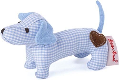 Käthe Kruse 0178375 Mini Greifling Dackel, blau -