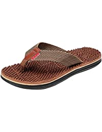 5a14c0561 Amazon.in  Hemp - Flip-Flops   Slippers   Men s Shoes  Shoes   Handbags