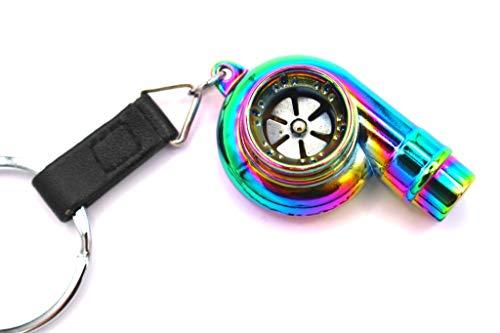 boost-key.com Turbo Lang Schlüsselanhänger Flip Flop Chrom - von VmG-Store