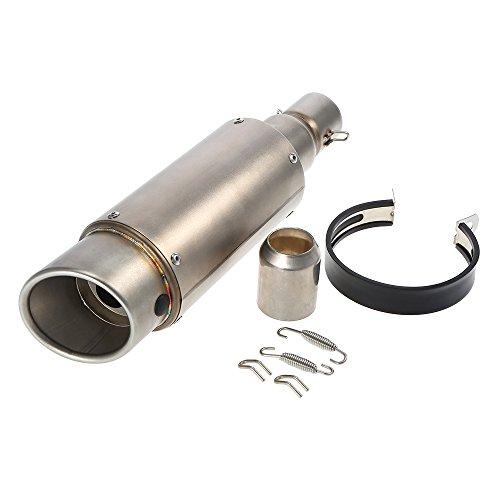 KKmoon - Tubo de escape con silenciador de 38-51mm para moto ATV...