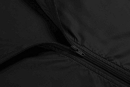 Codomo isola Giacca Impermeabile Donna Giacca Impermeabile Donna Antipioggia Giacche a Vento con Cappuccio Leggera Idrorepellente Traspirante Cappotto Giacca Impermeabile da Donna, Pouring Jacket