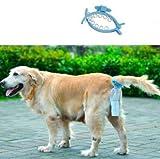 Bluelover Dog Poop Soft Silikon Schwanz Halter Hände Frei Pet Fäkalien Container mit 20 Stück Taschengröße M/L - M