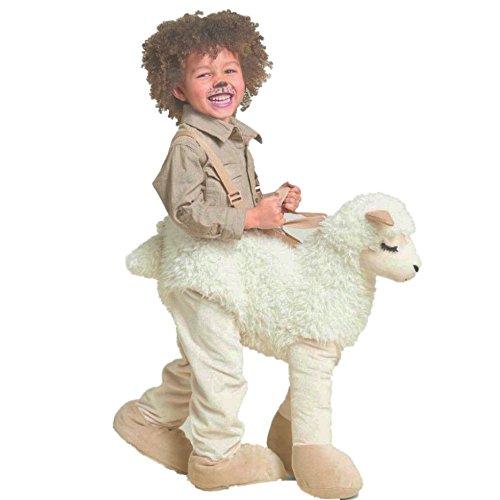 Hyde Eek Schaf Lama Rider Kinder Kostüm Halloween Fasching Karneval One Size 2-5 Jahre