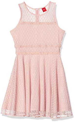 s.Oliver Mädchen 73.911.82.2997 Kleid, Rosa (Rose 4259), 170 (Herstellergröße:170/REG)