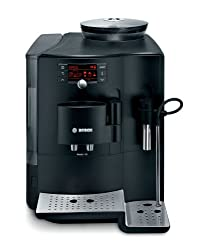 Bosch TES70159DE Kaffeevollautomat/VeroBar 100/1700 Watt/Testsieger Stiftung Warentest (12/2010)/15 bar/2,1 l Wasserbehälter/Cappuccinatore/schwarz