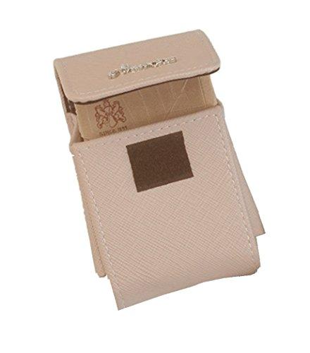 Alessandro® Zigarettenetui 4987 nude WIEN Damen Zigarettenbox Zigarttenschachtel mit Feuerzeugfach