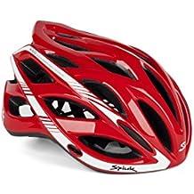 Spiuk Sportline Keilan - Casco, color rojo / blanco, talla 57 - 61
