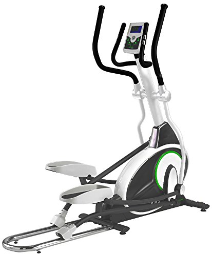 Tunturi Go Cross F 50 Elliptical Cross Trainer - Grey/Green