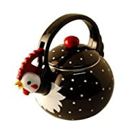 Supreme Housewares Whistling Tea Kettle, Rooster