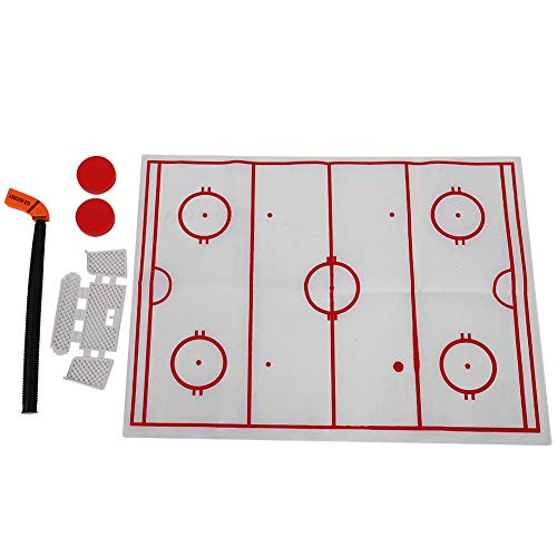 Alomejor Toilet Hockey Game Mini Hockey Goal Set für Erwachsene Kinder Dekompressionsspielzeug