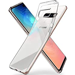 Spigen Coque Galaxy S10 Plus, Coque S10 Plus [Liquid Crystal] Ultra Mince Premium TPU Silicone/Transparent/Flexible/Anti-Trace Souple Compatible avec Samsung Galaxy S10 Plus, S10+ [Crystal Clear]