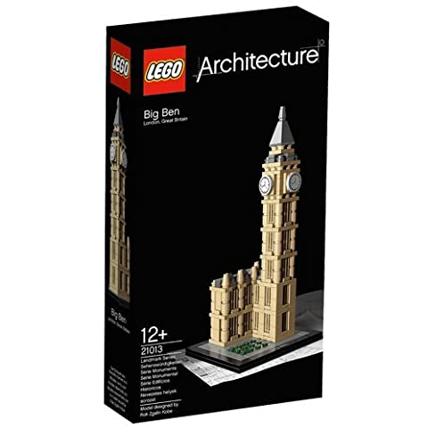 LEGO Architecture 21013 Big Ben by Natorytian