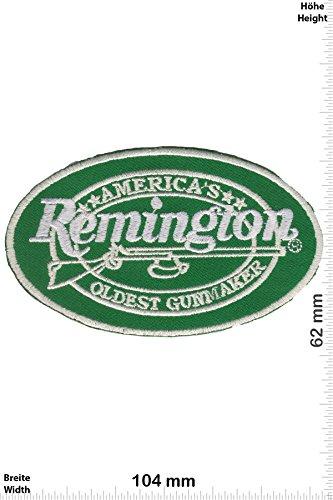 Patch - Remington - Americas oldest Gunmaker - Weapon - Waffen- Gewehr - Pistole - Gun - Weste - Patches - Aufnäher Embleme Bügelbild Aufbügler