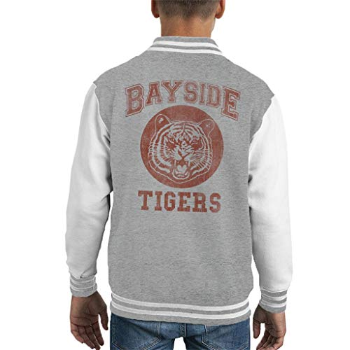Cloud City 7 Saved by The Bell Inspired Bayside Tigers Kid's Varsity Jacket -