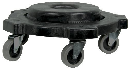 Round Dolly For 20-55gal (Pack of 2) by Jensen Continental Dolly