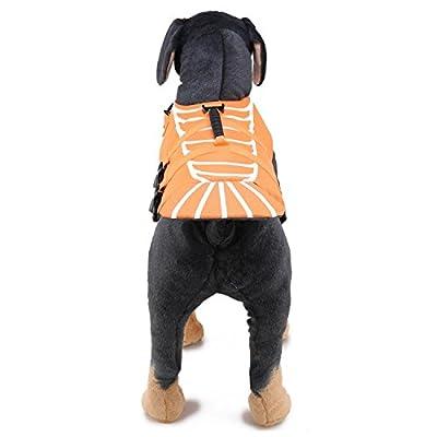 YFCH Hunde Life Jacket Hunde Warnweste Hunde-Schwimmweste Schwimmhilfe Float Coat Life Preserver