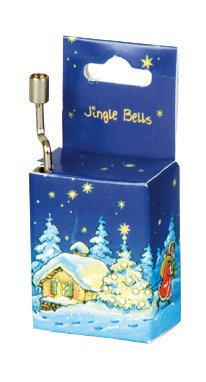 'FRIDOLIN 151.013,2 cm Jingle Bells Weihnachten Box