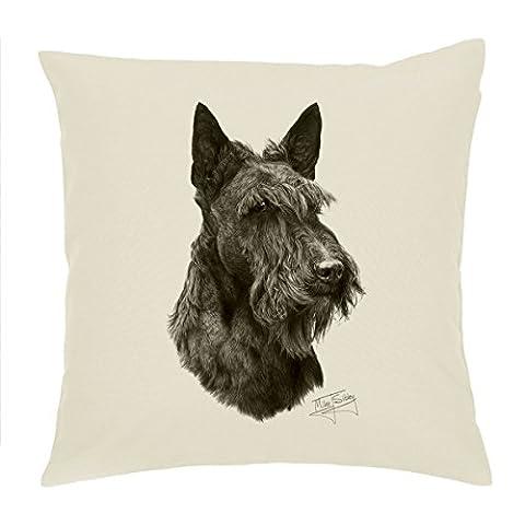 Mike Sibley (Terrier écossais Housse de coussin 45,7cm