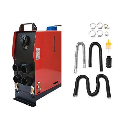 12V 5000W Calentador Aire Diesel 4 Agujeros Monitor Plana para Camiones Barcos Autobús Interruptores Giratorios Bajo Consumo De Combustible