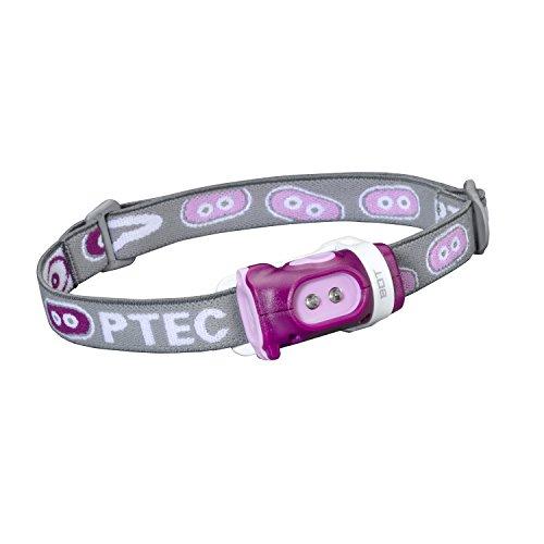 Princeton Mädchen-Stirnlampe Tec Bot, Weiße LEDs Pink/Purple