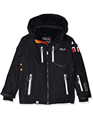 Geographical Norway Warrior - Chaqueta de esquí para niño, Niño, color negro, tamaño 12 años