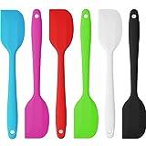 Belmalia - Spatola in silicone, 1pezzo, 22cm in diversi colori Silikon Teigschaber, Pink