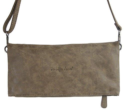 d4532a8bc22d3 Jennifer Jones Taschen Damen Damentasche Handtasche Umhängetasche  Schultertasche Clutch Tasche groß - 2 Tragevarianten Crossbody Bag ...