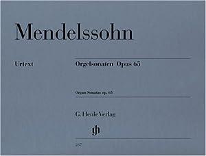 Organ Sonatas op. 65 - organ - (HN 237)