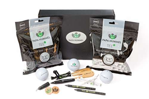 Premium Golf Kit & Gift Set by Papa Hummel