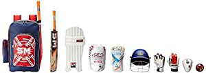 SM Junior Full Cricket Kit Rafter Size 3 with Helmet