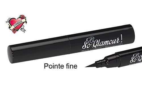 Eye Liner Waterproof noir mat semi permanent Zingus