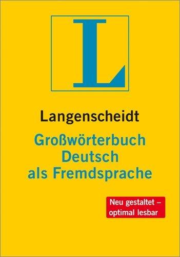 Großwörterbuch deutsch als fremdsprache por unknown