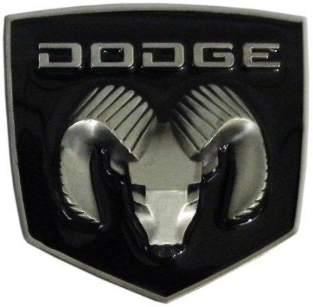 dodge-ram-finition-en-etain-boucle-de-ceinture-avec-email-noir