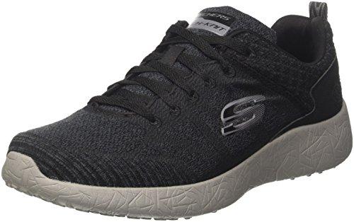 Skechers Burst-Athis, Sneakers Basses Homme Noir (BKCC)