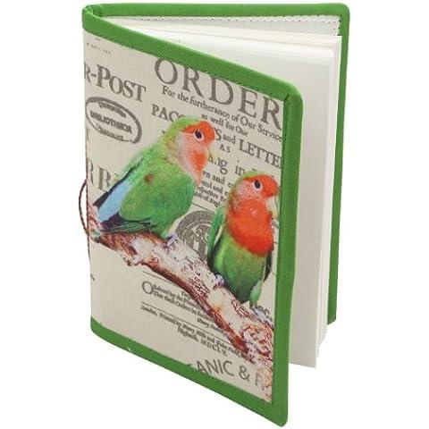 Mano scritto Uccello Stampato ufficiale Note Book Diary