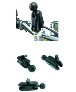 ULTIMATE ADDONS 3inch (7.6cm) MONTAGE Moto Extension avec boule 1 POUCE (2.5cm) ( SKU 16002)