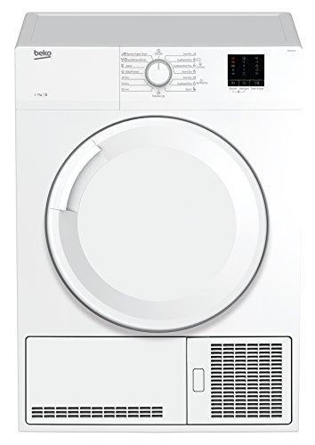 Beko DC 7130 N Kondenstrockner / 7kg /  Elektronische Feuchtemessung / Automatischer Knitterschutz