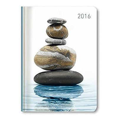 Ladytimer Zen 2016 - Taschenplaner / Taschenkalender A6 - Weekly - 192 Seiten