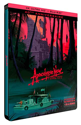 Apocalypse Now [4K Ultra HD + Blu-ray - Édition Limitée SteelBook Final Cut + Redux]