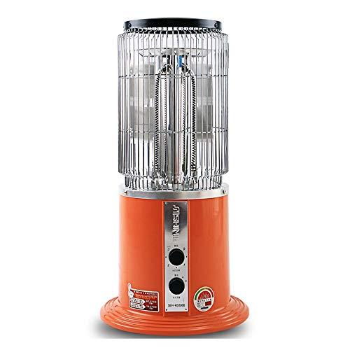 Radiador eléctrico MAHZONG Calentador de Cristal de Carbono Horno doméstico para Hornear...