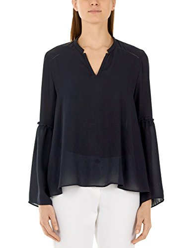 Marc Cain Collections, Blouse Femme Blau (midnight blue 395)