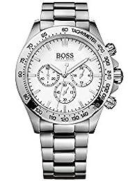 a15b6e0b6555 Amazon.es  Hugo Boss-boss - Plateado  Relojes