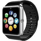 Reloj inteligente, luluking® SW-08–1A prueba de sudor reloj inteligente teléfono para iphone 5S/6/6S y Android 4,2o superior SmartPhones