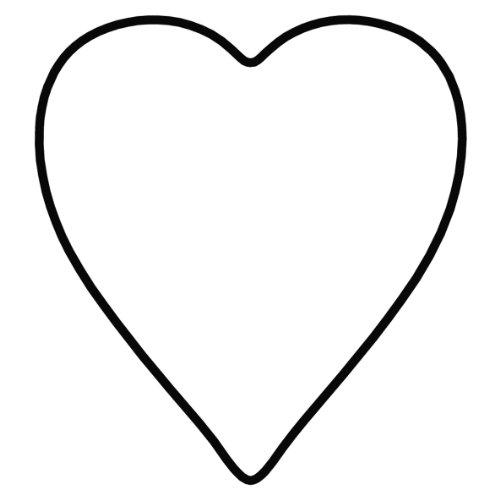 KAISER Lebkuchen-Ausstechform Herz Weihnachten Premium Qualität aus rostfreiem Edelstahl leichtes präzises Ausstechen sichere angenehme Handhabung