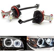 E90 E91 E92 Angel Eyes - Faro Delantero Bombillas LED H8 superbrillantes con Canbus libre de