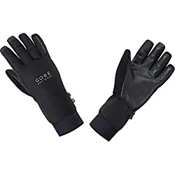 Gore BIKE Wear Guantes térmicos Unisex para ciclismo, PrimaLoft Isolation, WINDSTOPPER, UNIVSERAL Gloves, Talla 8, Negro, GWIONE990006